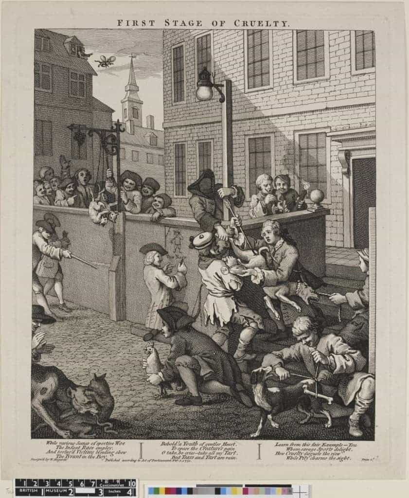 William-Hogarth-The-First-Stage-of-Cruelty-1751-copy